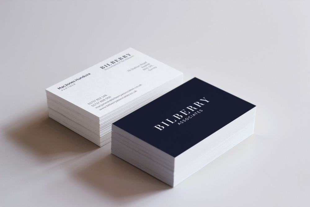 Bilberry Branding Business Card