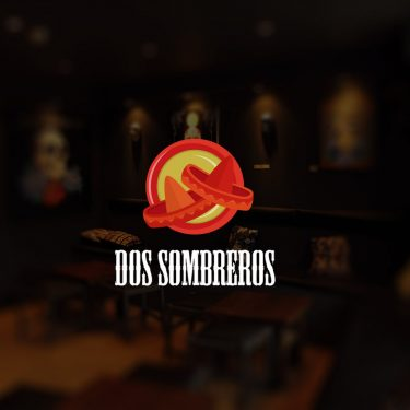 Fun and quirky Mexican restaurant logo design by Square One Digital